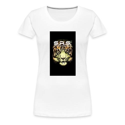 sas tiger wide jpg - Vrouwen Premium T-shirt