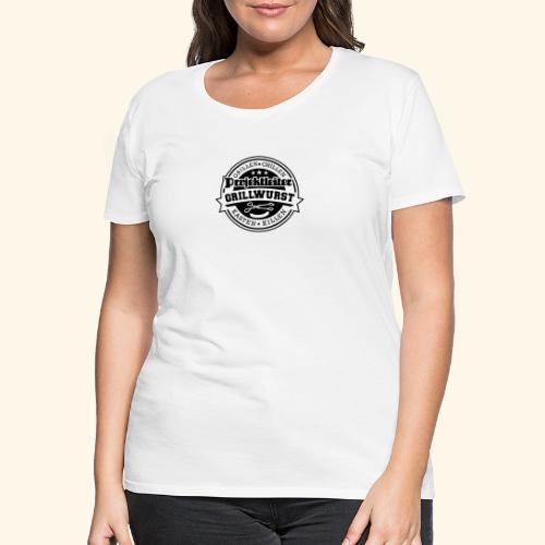 Grill T Shirt Projektleiter Grillwurst - Frauen Premium T-Shirt