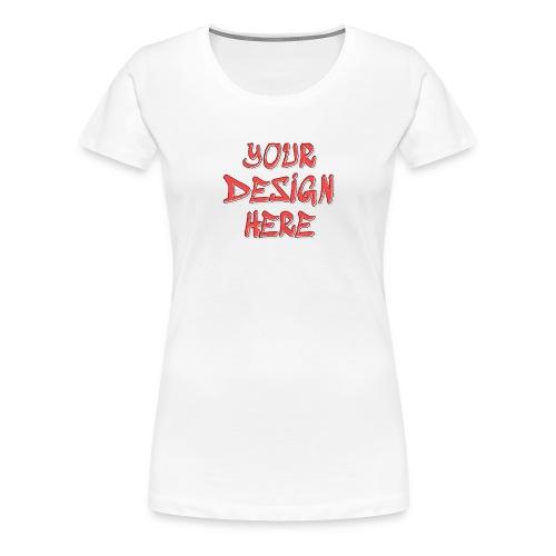 textfx - Premium-T-shirt dam