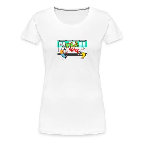 Tag Family - T-shirt Premium Femme