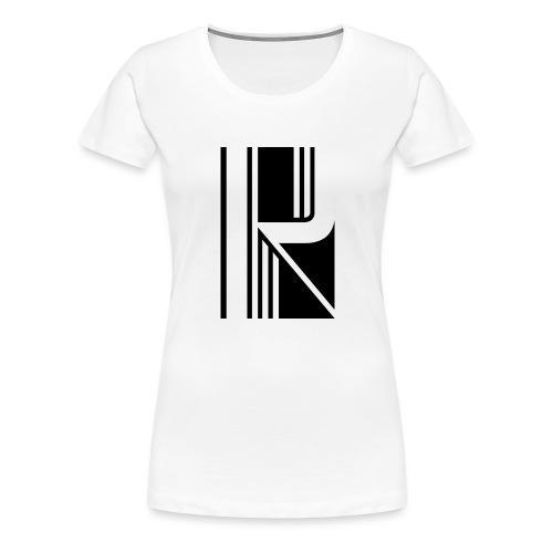 Motif en K - T-shirt Premium Femme