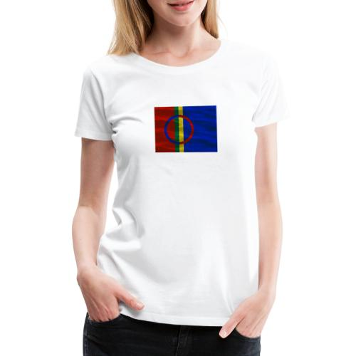 Sapmi flag - Premium T-skjorte for kvinner