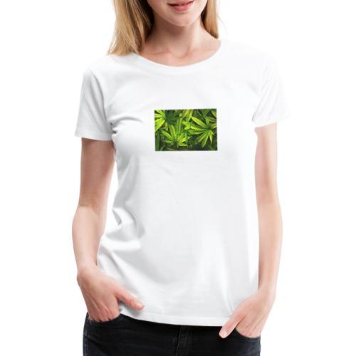 weed1 - Frauen Premium T-Shirt