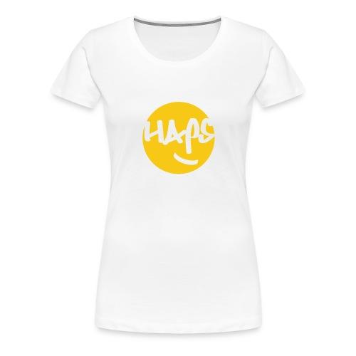 HAPS Yellow Logo - Women's Premium T-Shirt