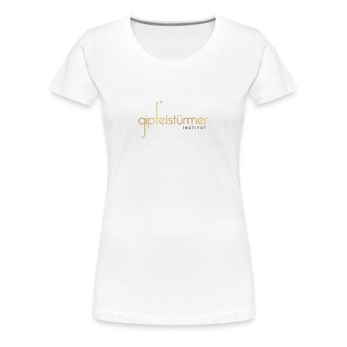 Firmenlogo - Frauen Premium T-Shirt
