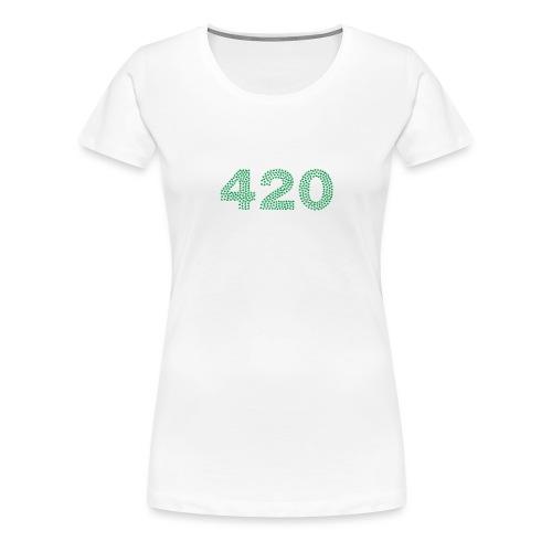 420 Cannabis Marihuana - Frauen Premium T-Shirt