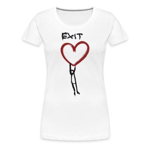 Exit love - Women's Premium T-Shirt