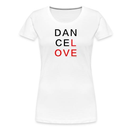 dancelove - Frauen Premium T-Shirt