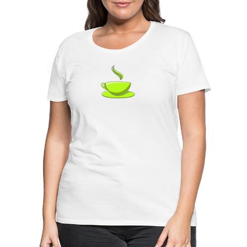 Manuccino - Frauen Premium T-Shirt