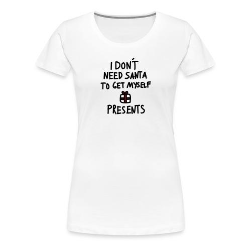 Anti Xmas T Shirt Spruch - Frauen Premium T-Shirt