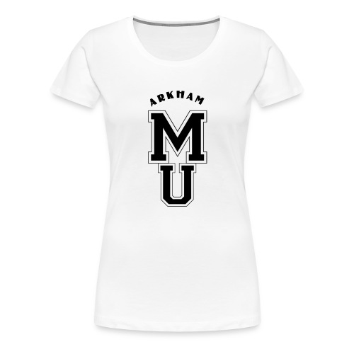 Miskatonic Ecusson Black - T-shirt Premium Femme
