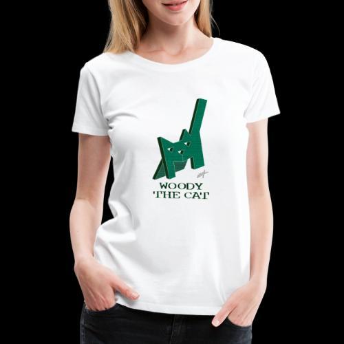 D29 Woody The Cat small LajarinDream - Camiseta premium mujer