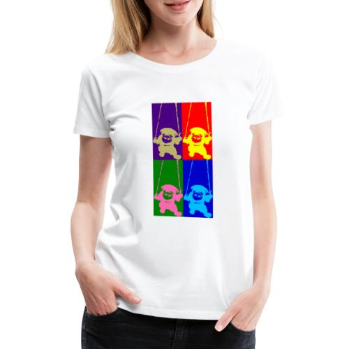 pug-warhol - T-shirt Premium Femme