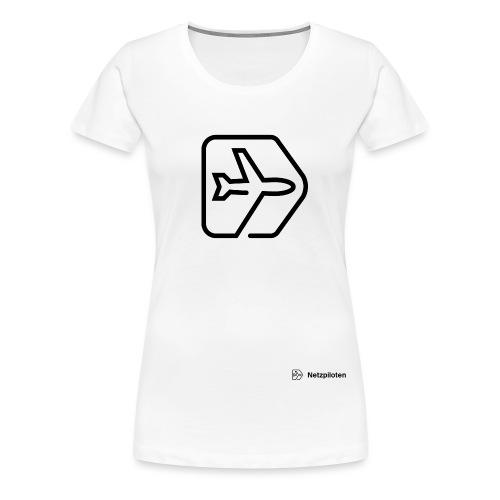 Logo-Header-groß2 - Frauen Premium T-Shirt
