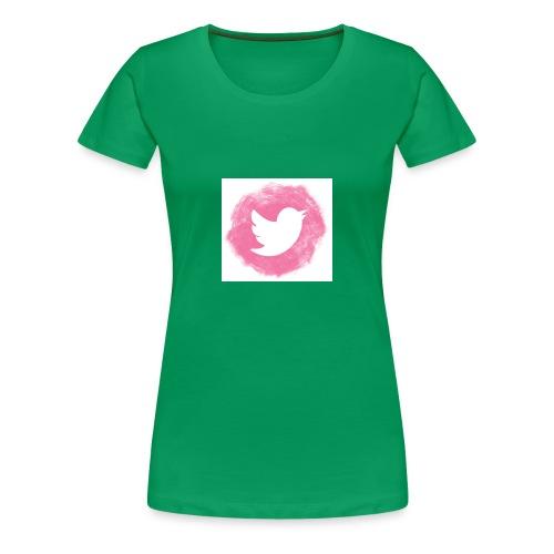 pink twitt - Women's Premium T-Shirt