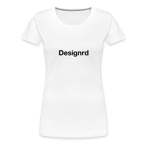 Designrd - Premium T-skjorte for kvinner