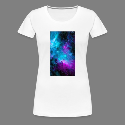 Carina_Nebula-wallpaper-1 - Women's Premium T-Shirt