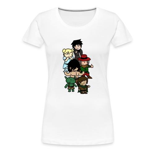 Boxer blanc png - T-shirt Premium Femme