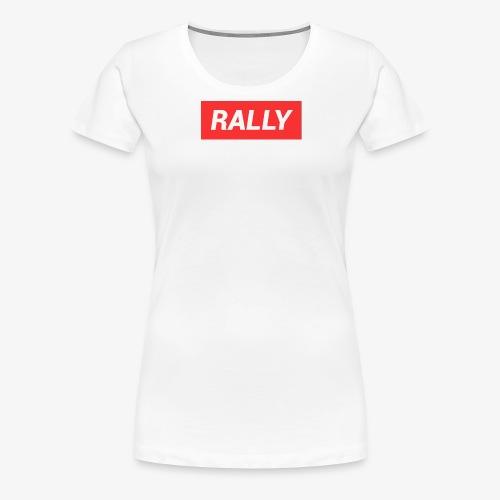Rally classic red - Premium-T-shirt dam