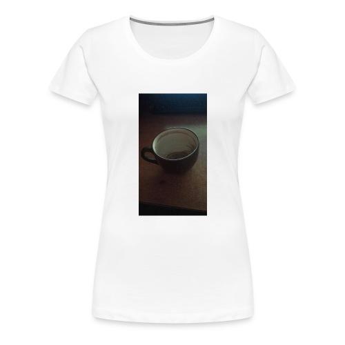 Melancholijny Kubek - Koszulka damska Premium