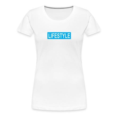 TEAL LOGO - T-shirt Premium Femme