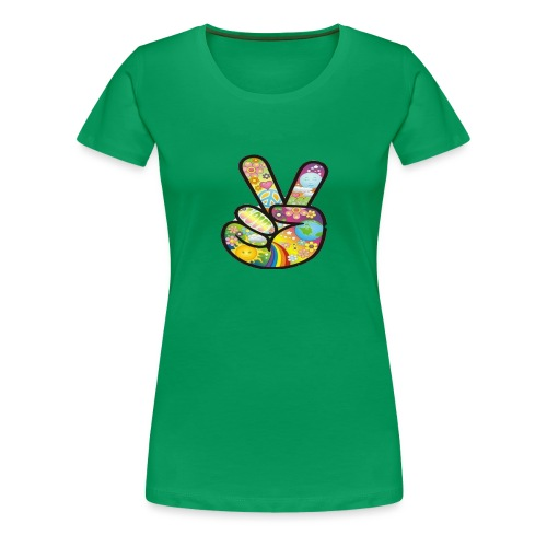 peace - Vrouwen Premium T-shirt