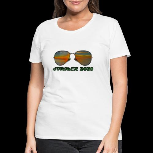 Summer 2020 Beach Vacation Sunglasses - Frauen Premium T-Shirt