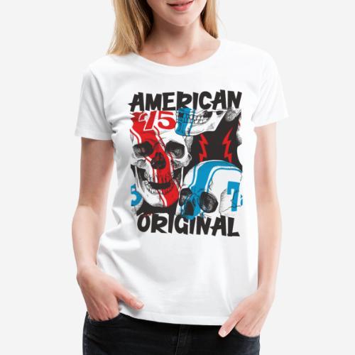 usa american original - Frauen Premium T-Shirt