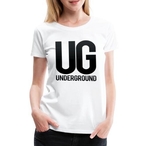 UG underground - Women's Premium T-Shirt