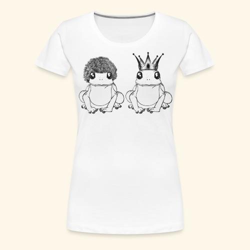 Crapaud - T-shirt Premium Femme