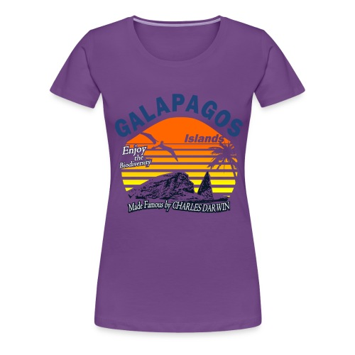Galapagos Islands - Women's Premium T-Shirt
