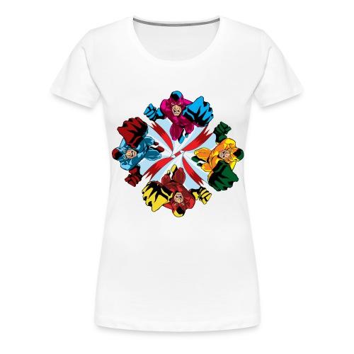 Flying Fist Men's T shirt - Women's Premium T-Shirt
