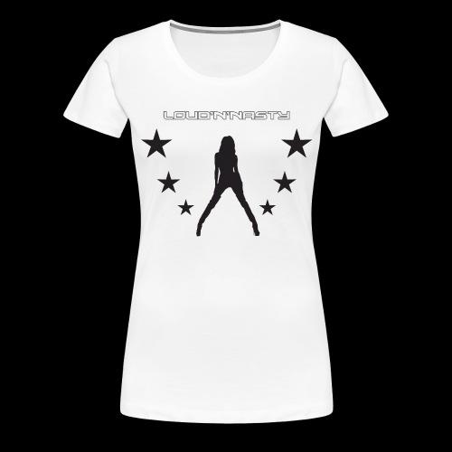 NastyGirls - Premium-T-shirt dam