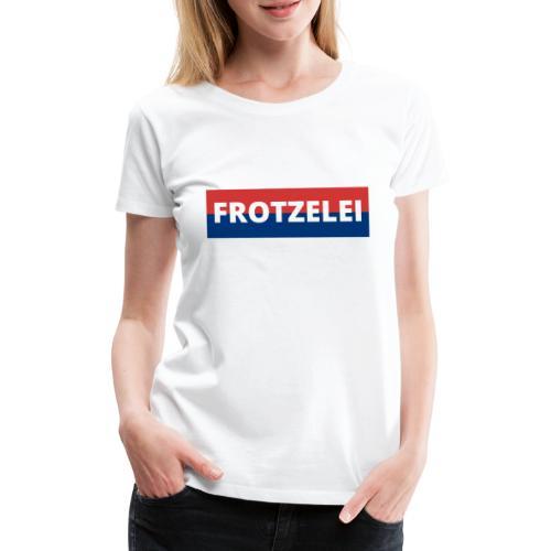 FROTZELEI - Polizeikontrolle Geschenk Autofahrer - Frauen Premium T-Shirt