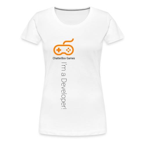 I'm a Developer! - Women's Premium T-Shirt