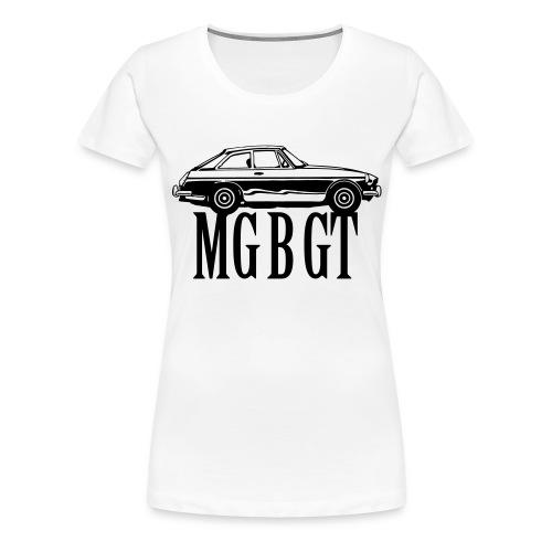 mgbgt01c - Premium T-skjorte for kvinner