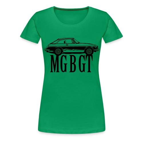 MG MGB GT - Autonaut.com - Women's Premium T-Shirt