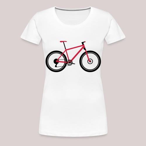 23-30 MTB HardTail - Frauen Premium T-Shirt