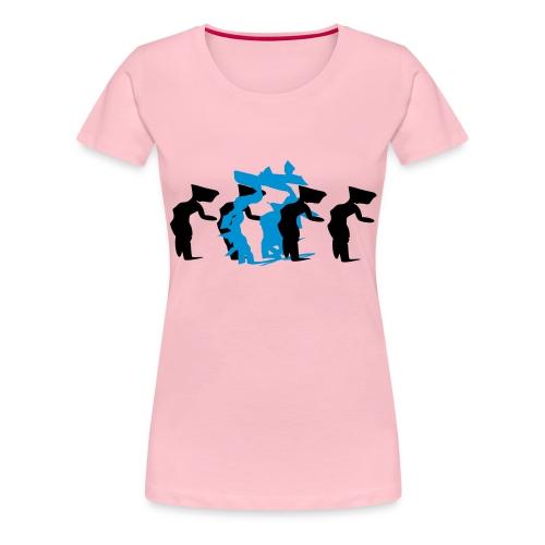 through - Women's Premium T-Shirt