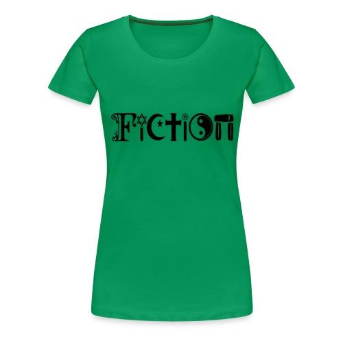 Fiction Schwarz - Frauen Premium T-Shirt