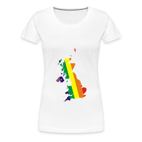 UK Pride - Women's Premium T-Shirt