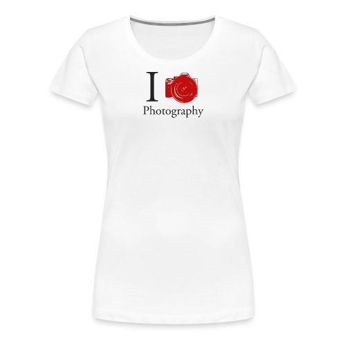 I Love Photography Collection - Frauen Premium T-Shirt