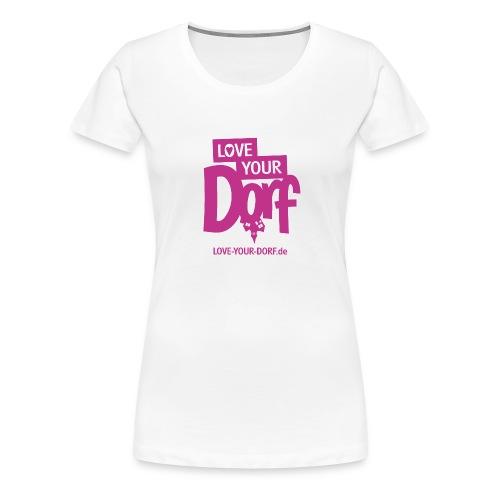 Logo_LYD_pink - Frauen Premium T-Shirt