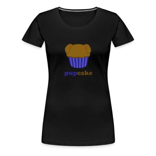 pupcake blauw - Vrouwen Premium T-shirt