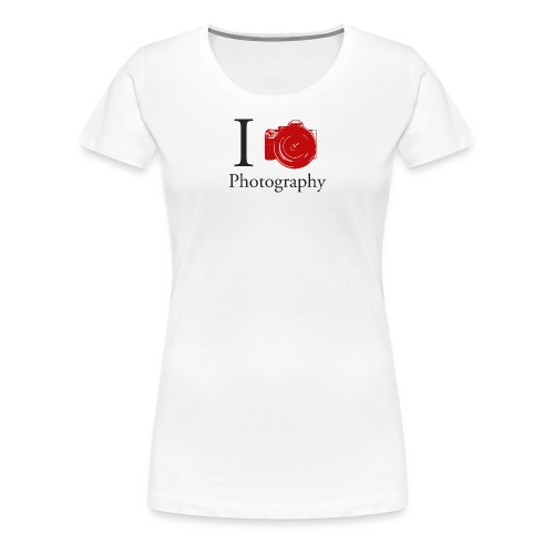 I Love Photography Collection - Frauen Premium T-Shirt