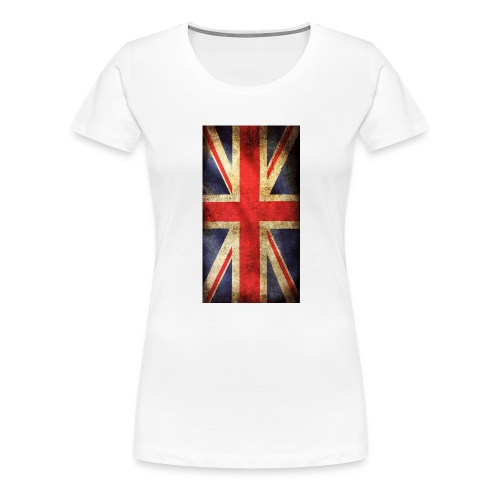 English Flag jpg - Premium-T-shirt dam