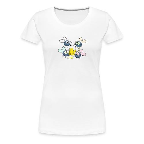 Bierfliegen - Frauen Premium T-Shirt