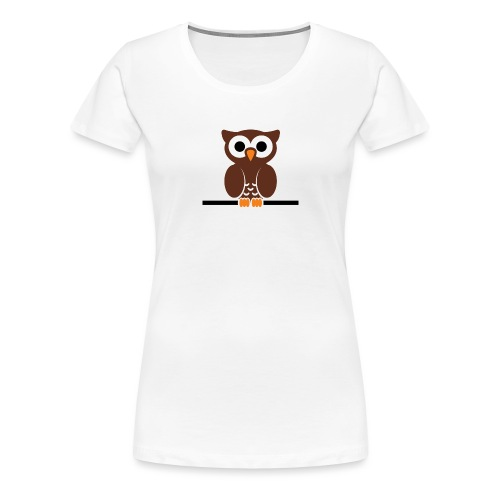 HIBOU - T-shirt Premium Femme