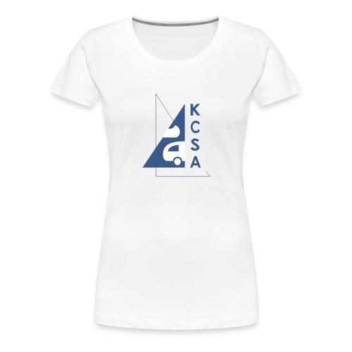 KCSA Logo3 - Frauen Premium T-Shirt