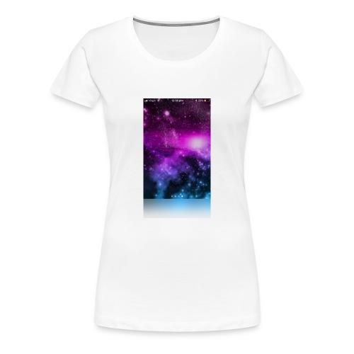 Galaxy long sleeved t-shirt kids - Women's Premium T-Shirt